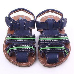 SANDALE - NU-PIEDS Bébé Garçons Chaussures Anti-dérapant Chaussures P