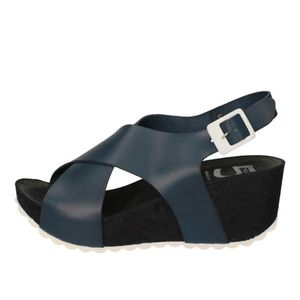 SANDALE - NU-PIEDS 5 PRO JECT Chaussures Femme Sandale Cuir Bleu AC69