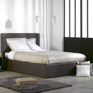 sommier coffre 140x200 achat vente pas cher. Black Bedroom Furniture Sets. Home Design Ideas
