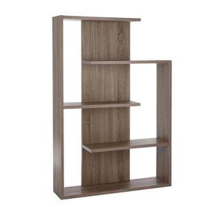 etagere bois clair achat vente etagere bois clair pas cher soldes d s le 10 janvier cdiscount. Black Bedroom Furniture Sets. Home Design Ideas