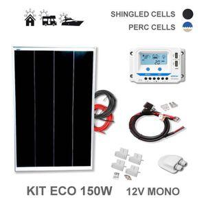 KIT PHOTOVOLTAIQUE Kit 150W ECO 12V panneau solaire