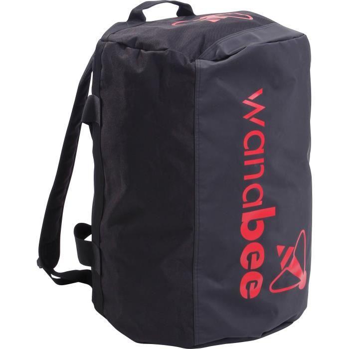 WANABEE Sac de Voyage Travel Bag 70 L - Mixte - Noir