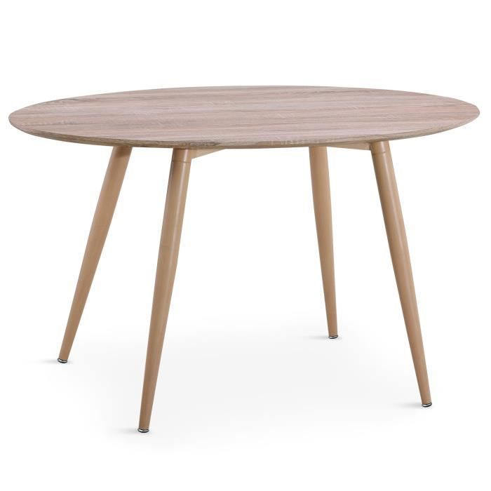 Table Ovale Scandinave Sissi Chene Achat Vente Table Basse Table