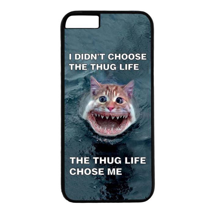 coque iphone 6 thug life