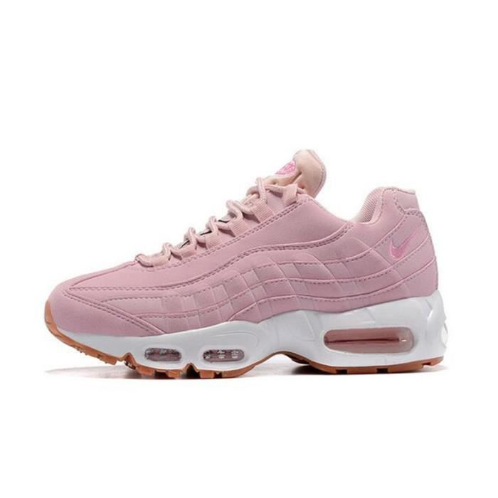 chaussure nike 95 femme rose