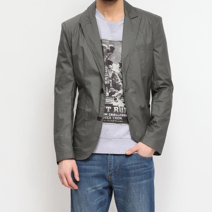 Extrêmement Veste costume homme vert - Achat / Vente Veste costume homme vert  MN32