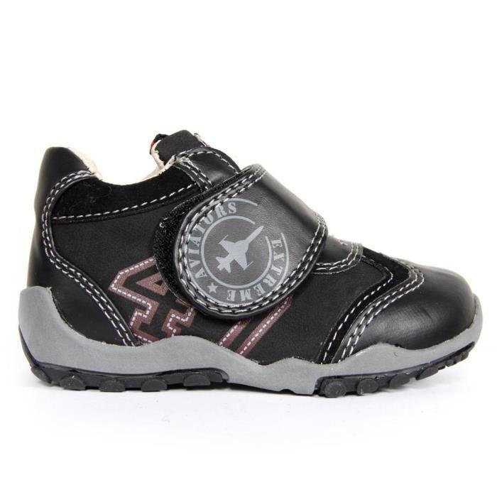 Chaussures pour Garçon Active Kids 161730-B1150 BLACK