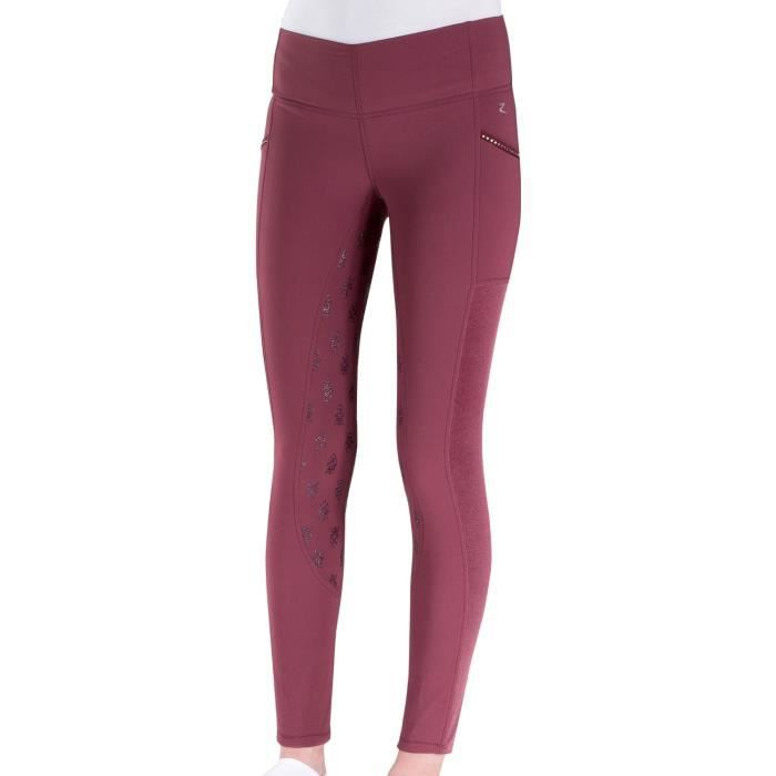 Horze Leah Silicone Full Seat Tights Womens Riding Breeches