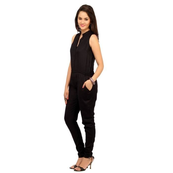 Womens Rayon Jumpsuit Q02OT Taille-36