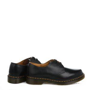 Smooth Martens femme Cuir Noir 1461 Shoes Dr Homme 6qCXAC