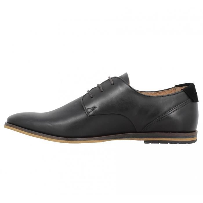 Chaussures à lacets SCHMOOVE Swan Derby cuir Homme-42-Nero