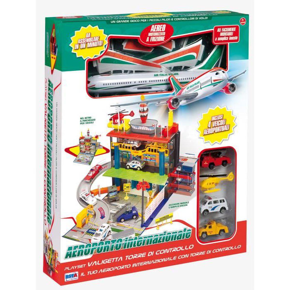 rs toys a roport de playset par avion voiture jeux jouets achat vente kit mod lisme. Black Bedroom Furniture Sets. Home Design Ideas