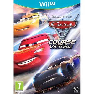 JEU WII U Cars 3 Jeu Wii U