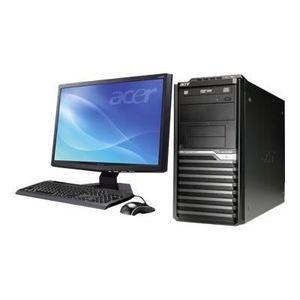 UNITÉ CENTRALE + ÉCRAN Lot PC ACER Veriton M421G Tour Athlon X2 2.5Ghz 2G