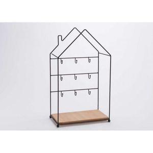 ARMOIRE - BOITE A CLÉ Boîte à clés Maison métal/bois Amadeus