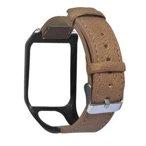 MONTRE 2020 Remplacement rétro en cuir du bracelet montre