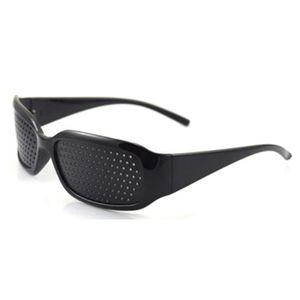LUNETTES DE SOLEIL Lunettes microporeuses noires anti-fatigue lunette a9b1f98d3604