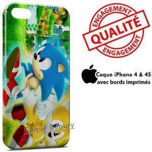 COQUE - BUMPER Coque iPhone 4 & 4S Sonic 10