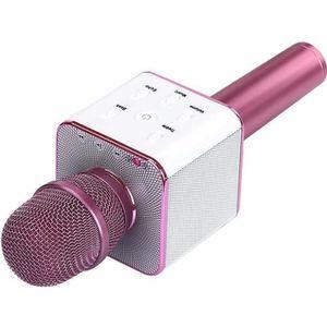 MICRO - KARAOKÉ Microphone Karaoké Bluetooth sans fil avec haut-pa