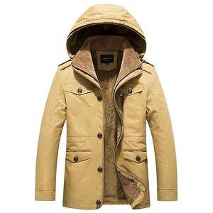 best service 1a917 dd0e6 homme-manteau-hiver-a-capuche-couleur-unie-de-park.jpg
