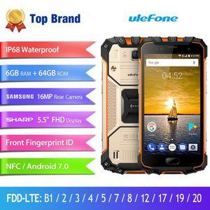 SMARTPHONE Ulefone Armor 2 IP68 Téléphone portable étanche 5.