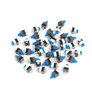INTERRUPTEUR ÉLECTRO. 40 Pieces 7 x 7mm PCB Bouton-poussoir tactile a ve