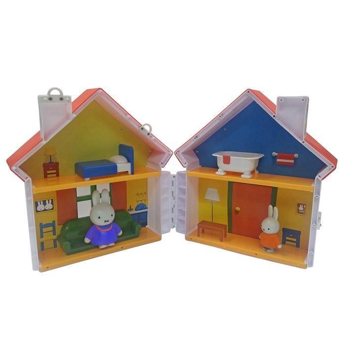 Miffy - La Maison de Miffy avec 2 personnages