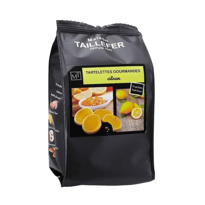 MAISON TAILLEFER Tartelettes Gourmandes au Citron Sachet de 9 -125g