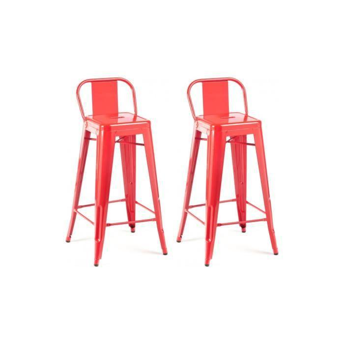 Chaise haute design industriel san francisco lot with for Chaise haute pas cher