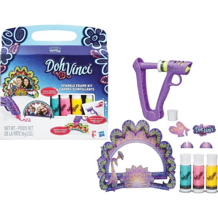 Achat Jeux Sparkle Dohvinci Cadre Jouets Hasbro Kit Vente MSUzpqV