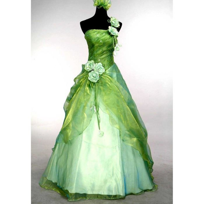 Robe De Soiree Mariee Cocktail Bal Mariage Pomme Achat