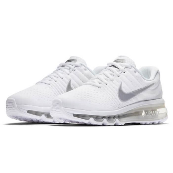 nike air max 2017 gs 851622 100 blanc achat vente basket cdiscount. Black Bedroom Furniture Sets. Home Design Ideas