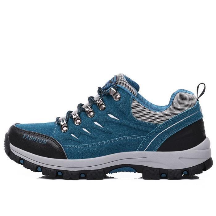 SHOE20171010002-blue-41-bleuBottes d'hiver de randonnée chaud
