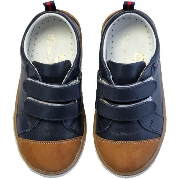 Chaussures en cuir SST 011 21 Classic Navy Brown