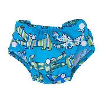 Popolini couche lavable pour piscine crocodile achat for Bebe couche piscine