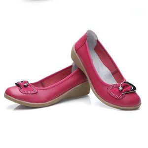 Chaussures Femme Cuir Classique Comfortable Chaussure BSMG-XZ047Rouge35 v3ILWHMkU