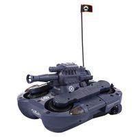 VOITURE ENFANT Véhicule amphibie tank citerne télécommande 2,4G R