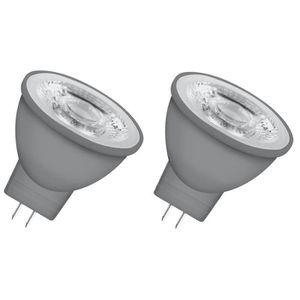OSRAM Lot de 2 Ampoules spot LED MR11 GU4 3,7 W équivalent ? 35 W blanc chaud