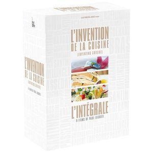 DVD FILM L'invention de la cuisine - Coffret 10 DVD