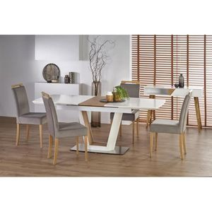 TABLE À MANGER SEULE Table à manger design extensible 160÷200 x  90 x 7