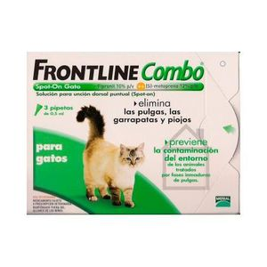 ANTIPARASITAIRE Frontline Combo Spot On pour chats