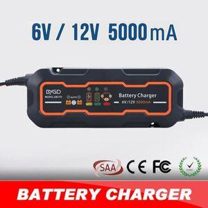 CHARGEUR DE BATTERIE Chargeur de batterie de moto intelligente 12V/6V ,