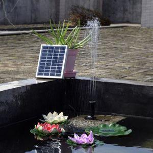 POMPE ARROSAGE Solar Pompe solaires de 2 watts petite fontaine Mi