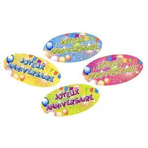 """CONFETTIS Confettis de table en papier """"Joyeux anniversaire"""""""