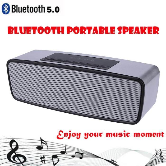 Musique Sans Fil De Bluetooth Mini Haut-parleur Portable Salut-fi Nouveau @los455