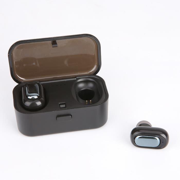 Tws-l1 Vrai Bluetooth 5.0 Sans Fil Hi-fi Casque Sport Earbuds Twins Écouteurs Intra-auriculaires_de4685