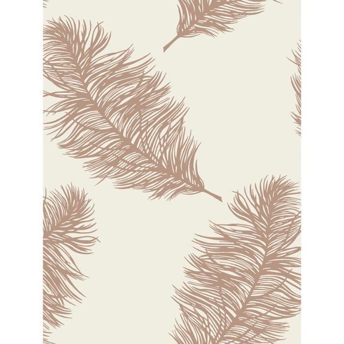 Fawning Plume Fond d'écran Cuivre - Crème Holden 12627 - Achat / Vente papier peint Fawning ...