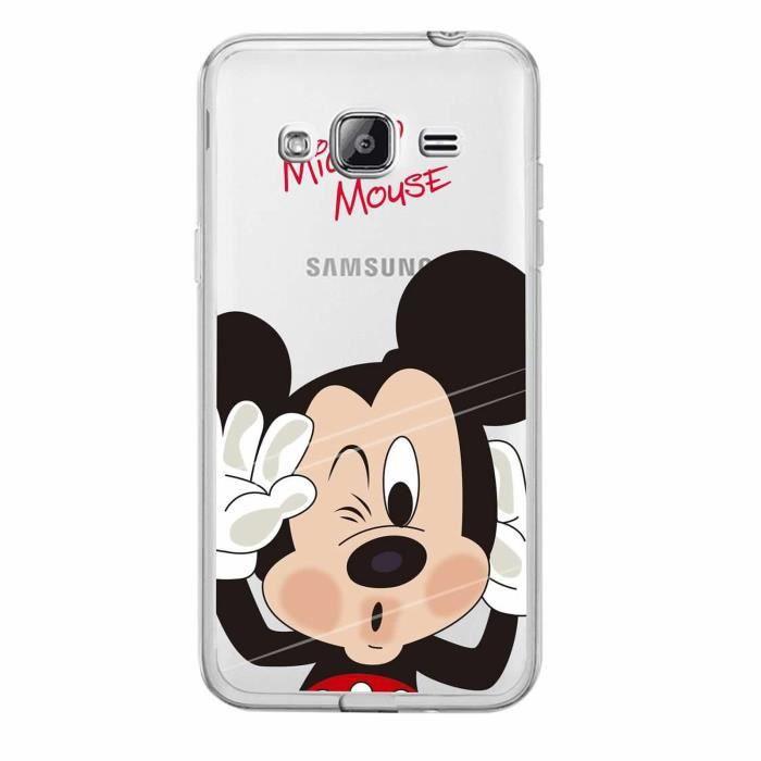 coque samsung galaxy j3 2016 mickey silicone