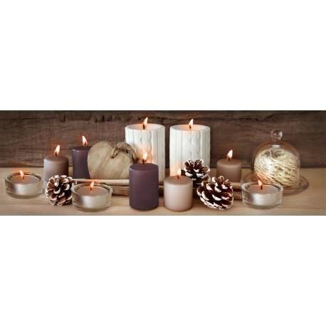 toile led winter 45x140 cm marron achat vente tableau toile bois soldes d s le 27 juin. Black Bedroom Furniture Sets. Home Design Ideas