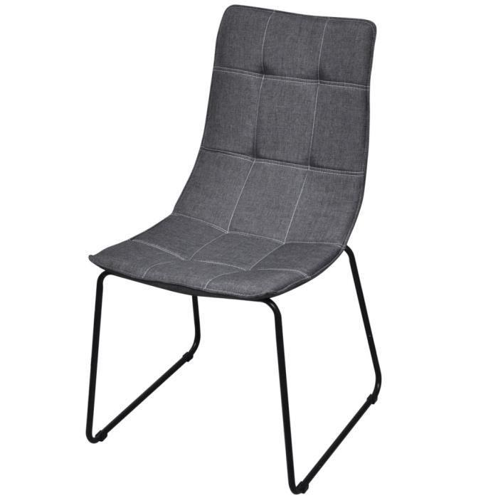 chaises de cuisine pieds en fer